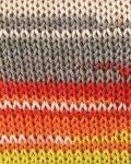 Adina Batik Garn in orange-rot-gelb-mint-grau-2