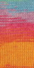 Adina Batik Garn in orange-pink-flieder-türkis-hellgrün-2