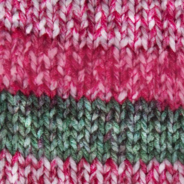 Highlight-Garn in grün-pink-2