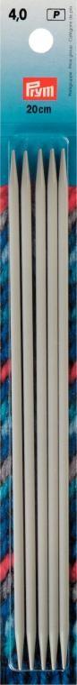 Strumpfstricknadeln KST 033 grau, 3,5 mm