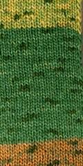 Fashion-Garn in honig-grün-gelb