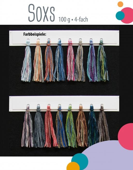Sockenwolle - Überraschungspaket 500g