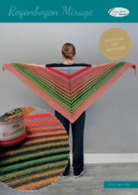kostenlose Anleitung für ein Regenbogen-Mirage-Dreieckstuch