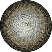 Twisted Merino Cotton - ecru-hellgrau-khaki-mokka, 200g