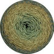 Twisted Merino Cotton graugrün-heugelb-khaki-petrolgrün