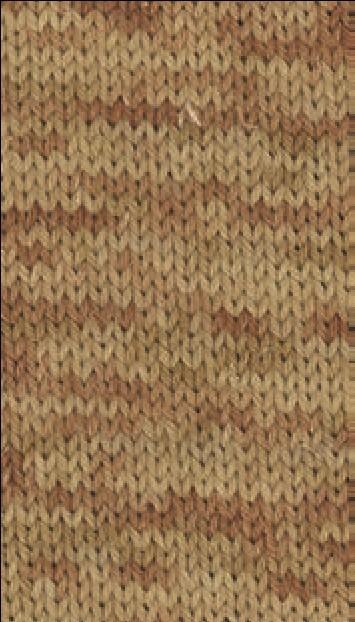 Slow Wool Canapa hand dyed Sandgelb/Camel/Orangebraun