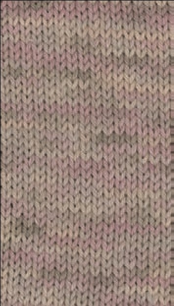 Slow Wool Canapa hand dyed Grège/Pastellrosa/Taupe